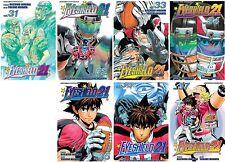 Eyeshield 21 Series English Manga Collection Books 31-37 BRAND NEW!