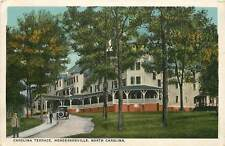 North Carolina, NC, Hendersonville, Carolina Terrace 1920's Postcard