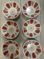 Tea glass saucers - Set of 6 - Traditional Turkish tea glass saucer -Free Post