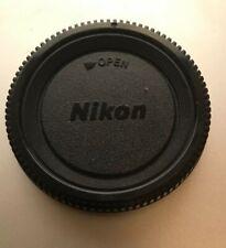 Nikon F Mount Body Cap Copy