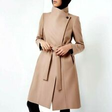 Ted Baker Wool Outer Shell Beige Coats, Jackets & Waistcoats