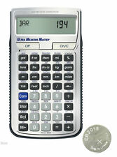 Calculated Ind. Ultra Measure Master Calculator 8025 with Spare CR2016 Battery