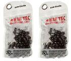 "War Tec 16"" Cadena De Motosierra Pack de 2 Para Stihl MS250 025 Motosierra"