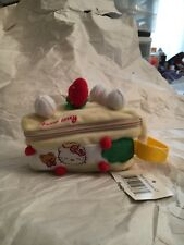 Vintage Sanrio HELLO KITTY Strawberry Shortcake Pocketbook Purse •NEW•