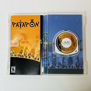 Patapon Sony PSP Console Game Black Label Complete Clean & Very Good, Fast Ship