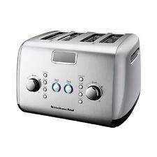 NEW KitchenAid Artisan 4 Slice Toaster Contour Silver (RRP $289)