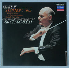 Brahms: Symphony No. 2/CSO & Solti/London Full Silver West Germany No IFPI