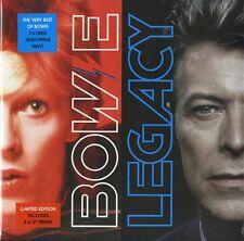 BOWIE DAVID LEGACY (THE VERY BEST OF) DOPPIO VINILE LP 180 GRAMMI NUOVO !