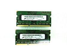 25 x LOT Micron 2GB 1Rx8 PC3 - 12800S DDR3 Laptop RAM/Memory SODIMM