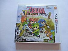 Nintendo 3DS The Legend Of Zelda Tri Force Heroes  Video Game 2015