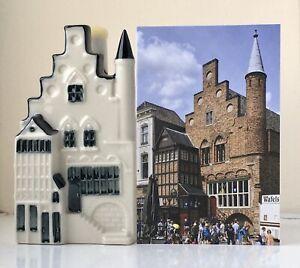 KLM Blue Delft Miniature House Number 101 (See Description)
