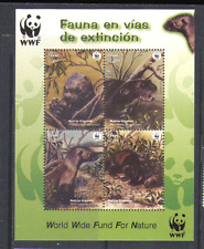 Peru 2004 WWF/Endangered Species/Giant Otter/Nature/Animals 4v m/s (n13709)