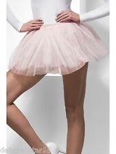 Womens TUTU Black White + 4 Layer Tutu Underskirt Petticoat Fancy Dress  8-16