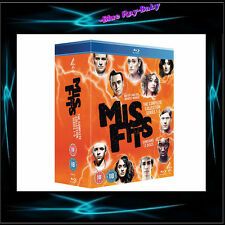 MISFITS SERIES SEASONS - 1 2 3 4 & 5 *** BRAND NEW BLURAY BOXSET**