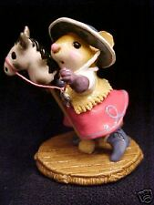 Wee Forest Folk  Special FTF 2004  Clippity Clop Hot Pink