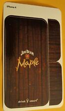 (3) Jim Beam Maple Whiskey iPhone 4 or iPhone 5 Skins -Phone Skins - Your Choice