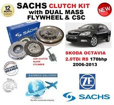 FOR SKODA OCTAVIA 2.0 TDi RS SACHS CLUTCH KIT 2006-2013 with FLYWHEEL BOLTS CSC