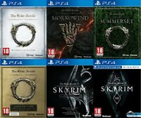 PS4 Elder Scrolls v Skyrim Bundle Mint Same Day Dispatch 1st Class Delivery Free