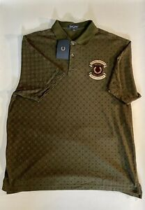 fred perry polo xl vintage green