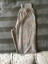 Topshop Grey Faded Floral Print Soft Leggings Size 8