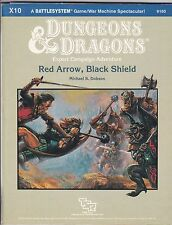 DUNGEONS & DRAGONS RED ARROW, BLACK SHIELD