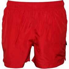 Jockey Classic Beach Pantalones cortos de baño para hombre, rojos