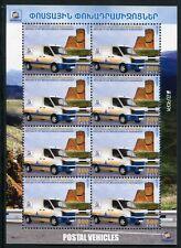 Berg-Karabach Nagorno Karabakh 2013 CEPT Postfahrzeuge EUROPA Kleinbogen MNH