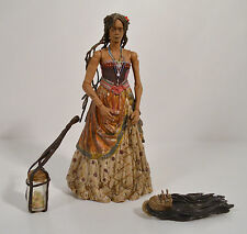 "2006 Calypso Tia Dalma 6.25"" Action Figure Disney Store Pirates Of The Caribbean"