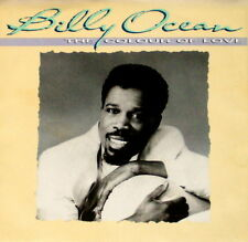 """BILLY OCEAN """"THE COLOUR OF LOVE/Never Too Late"""" JIVE 9707 (1986) 45 & PIC SLEEVE"""