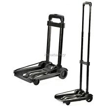 For Travel Folding Cart Push Hand Truck Platform Trolley 40kg Capacity