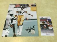 Pittsburgh Steelers Mel Blount Autographed Signed 8x10 Photo -  JSA