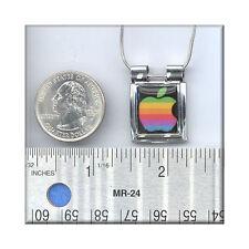 CLOSE2 YOUR ART aUrora Pendant Apple Rainbow Computer Rainbow  Necklace mac