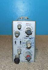 Tektronix 7a26 Dual Trace Amplifier Plug In Free Shipping