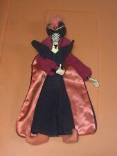 "VTG Applause Disney Aladdin Jafar Plush Doll Vinyl Face Hands 12"""