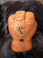 Stan Lee Signed Marvel The Thing  Fist Excelsior Approved Hologram