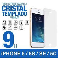 PROTECTOR DE PANTALLA DE CRISTAL TEMPLADO PARA iPHONE 5 5S SE 5C