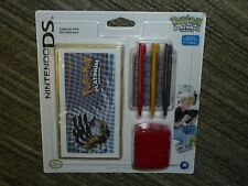 NINTENDO DS LITE OFFICIAL POKEMON KIT CONSOLE WRAP 3 STYLUS GAME CASE BRAND NEW!