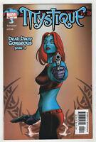 Mystique #4 (Sep 2003, Marvel) [Dead Drop Gorgeous] Vaughan, Lucas, Linsner D