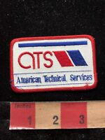 AMERICAN TECHNICAL SERVICES Advertising Patch 83D6