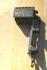 Antique 1911 F.B. Redington Co. Counting Machine Brass Copper Steel Construction