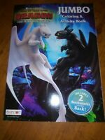 How To Train Your Dragon The Hidden World Jumbo Coloring & Activity Book