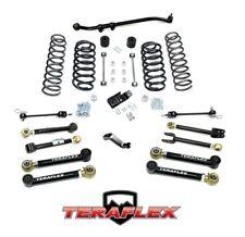 """TeraFlex TJ 4"""" Suspension Lift Kit w/ 8 FlexArms & Trackbar 97-06 Jeep Wrangler"""