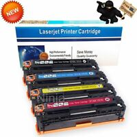 4PK CF210A Color Toner for HP 131A LaserJet Pro 200 M251nw M276nw MFP Printer