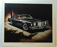 Vintage 1974 Pontiac Grand Prix Hardtop Coupe Car Dealership Advertising Sign