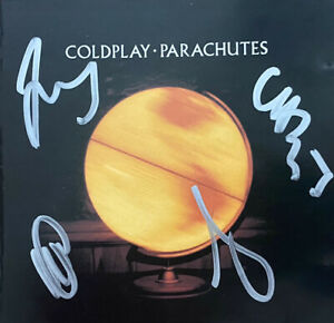 Coldplay - Parachutes Signed Autographed Cd