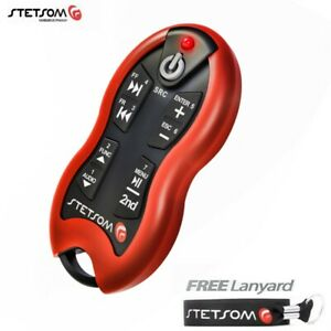 1x Stetsom SX2 Red - Long Distance Remote Control - 16 Functions - Free Lanyard
