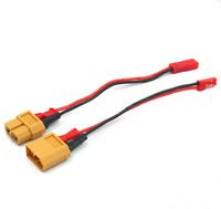 2 Adapter Set XT60 auf BEC JST Ladekabel Kabel LiPo Akku Battery Stecker Buchse