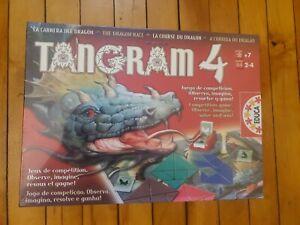 "Educa Tangram 4 ""The dragon race"" New unopened"