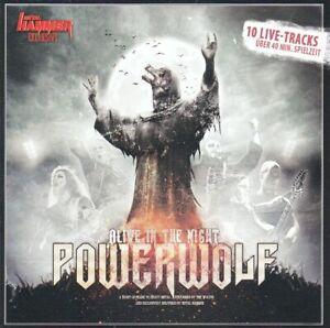 CD • POWERWOLF • 2012 • ALIVE IN THE NIGHT • (Metal Hammer Exclusive) • WIE NEU!