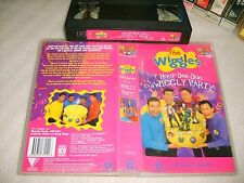 *THE WIGGLES : ITS A WIGGLY PARTY* ABC 4 Kids Original Wiggles & Gang VHS Issue